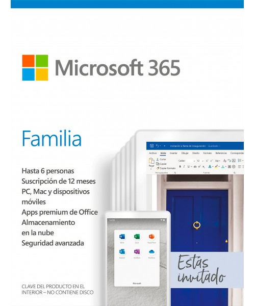 Microsoft 365 Familia |...
